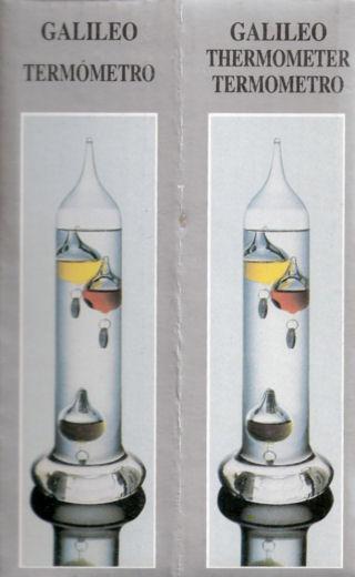Thermometer van galileo - Kamer van mozaiekwater ...